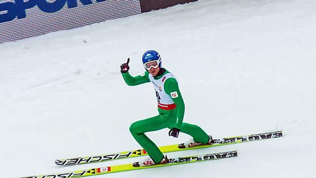 Bernhard Gruber legt im Skispringen die Grundlage zum Erfolg.