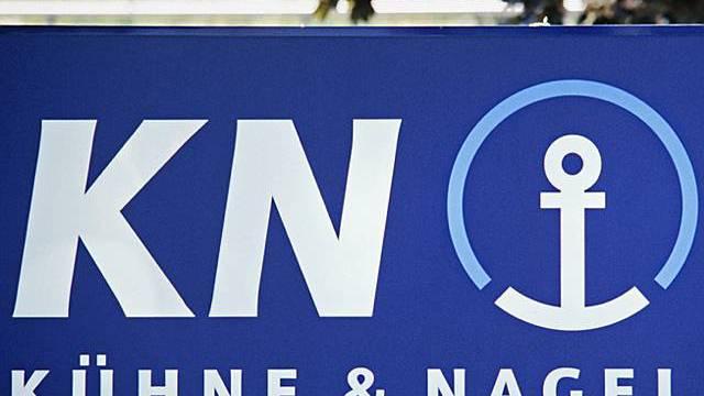 Das Logo von Kühne+Nagel (Archiv)