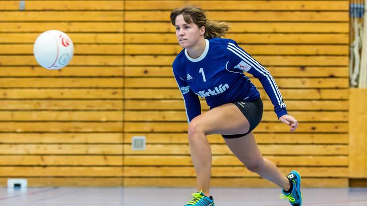 Der STV Oberentfelden-Amsteg - hier im Bild Fabienne Fedier - will am Europapokal-Turner in Österreich befreit aufspielen.