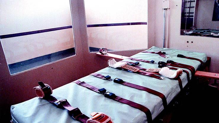Hinrichtungszimmer in Carson City, Nevada (USA). Erstmals seit 2006 waren die USA nicht mehr unter den Top-5-Scharfrichtern. (Archiv)