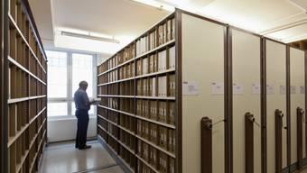 Die Archive des Betreibungsamtes St. Gallen (Symbolbild)