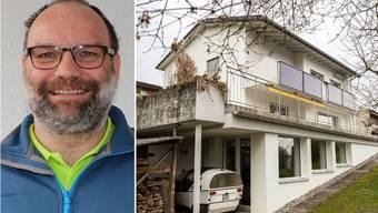 Christoph Kamber und sein Minergie-P-Haus.