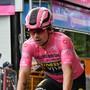 Primoz Roglic befreite sich von der Last des Leadertrikots am Giro d'Italia