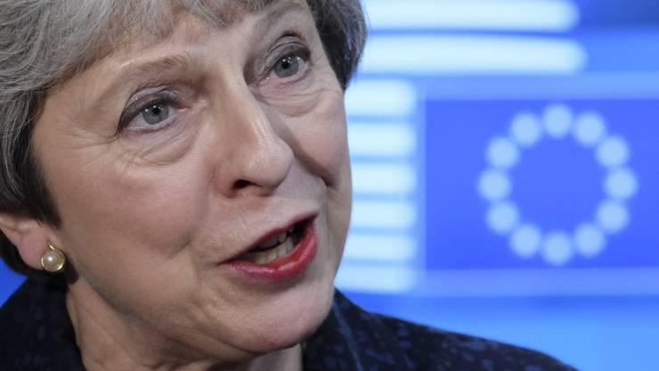 Die britische Premierministerin Theresa May hat sich am Sonntag mit einem Schreiben an die Öffentlichkeit gewandt, um für ihren Brexit-Vertrag mit der EU zu werben. (Archivbild)