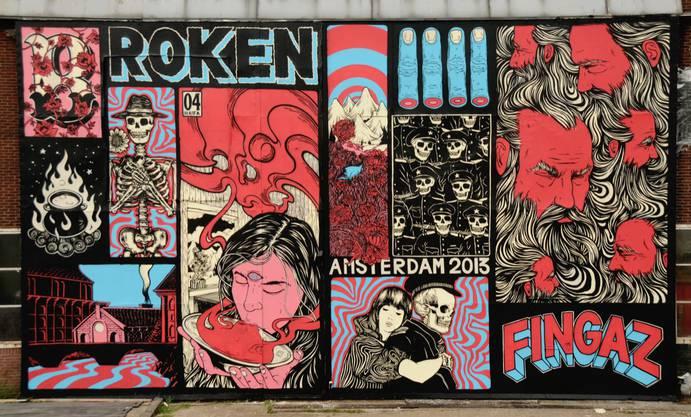 Der israelische Künstler Broken Fingaz wird auch an der Ausstellung Urban Heart Basel zu sehen sein.