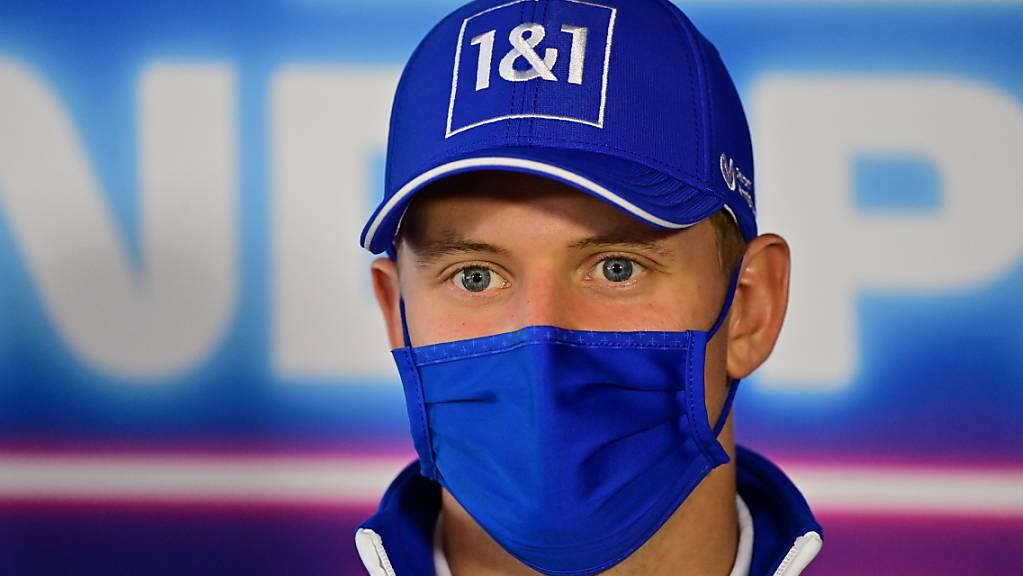 Bleibt mindestens ein weiteres Jahr bei Haas: Weltmeister-Sohn Mick Schumacher.