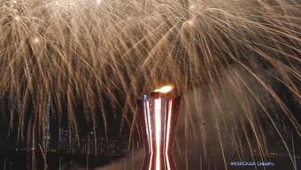 Schlussfeier in Krasnojarsk - ein derartiges Spektakel wird in zwei Jahren auch in Luzern geboten