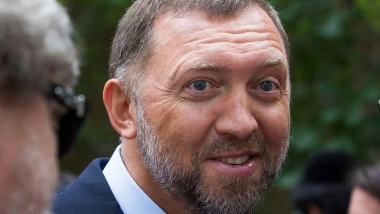 Die USA haben Sanktionen gegen Unternehmen im Besitz des russischen Oligarchen Oleg Deripaska gelockert - Strafmassnahmen gegen ihn persönlich bleiben allerdings in Kraft. (Archivbild)