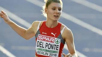 Zweite Medaille für Ajla Del Ponte an der Sommer-Universiade in Neapel: Nach Silber über 100 m gewann die Tessinerin mit der 4x100m-Staffel Gold (Archivbild)