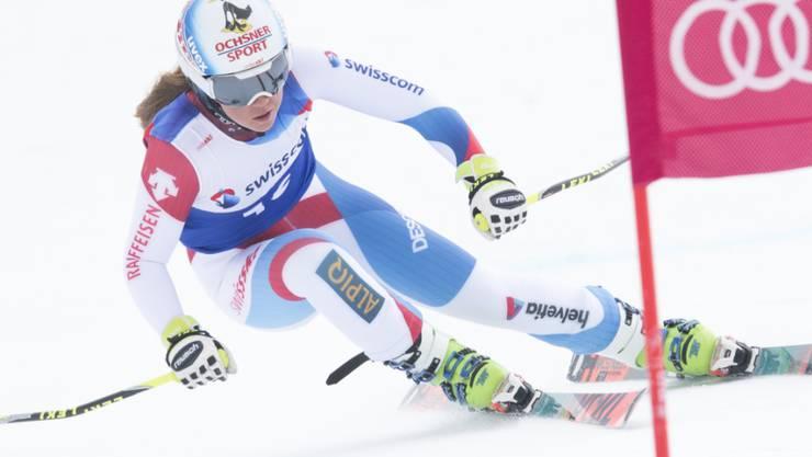 Juliana Suter fährt im Europacup aufs Abfahrts-Podest