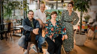 v.l.n.r. Michele Luccarelli, Claudio & Maria Luccarelli, Romina Lukas-Luccarelli