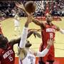 Thabo Sefolosha traf mit den Houston Rockets auf seinen früheren Arbeitgeber Oklahoma City Thunder