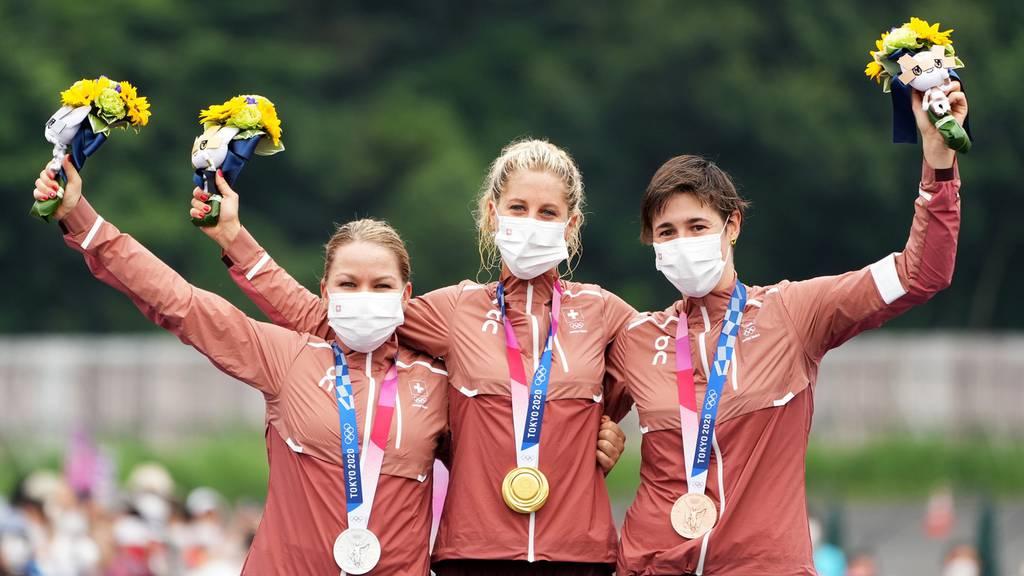 Jolanda Neff holt sich Gold! Schweizer Dreifachsieg im Mountainbike