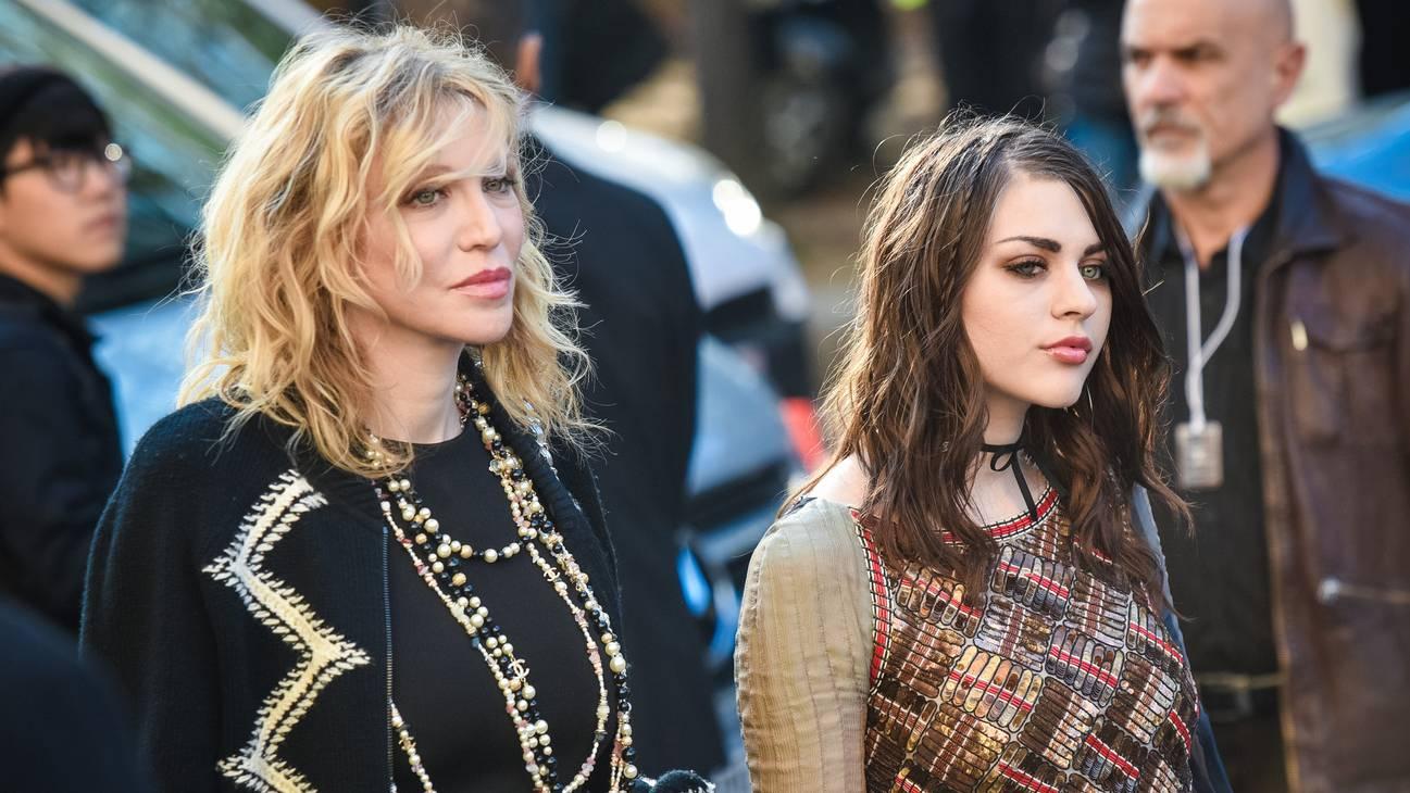 Frances Bean Cobain und Courtney Love