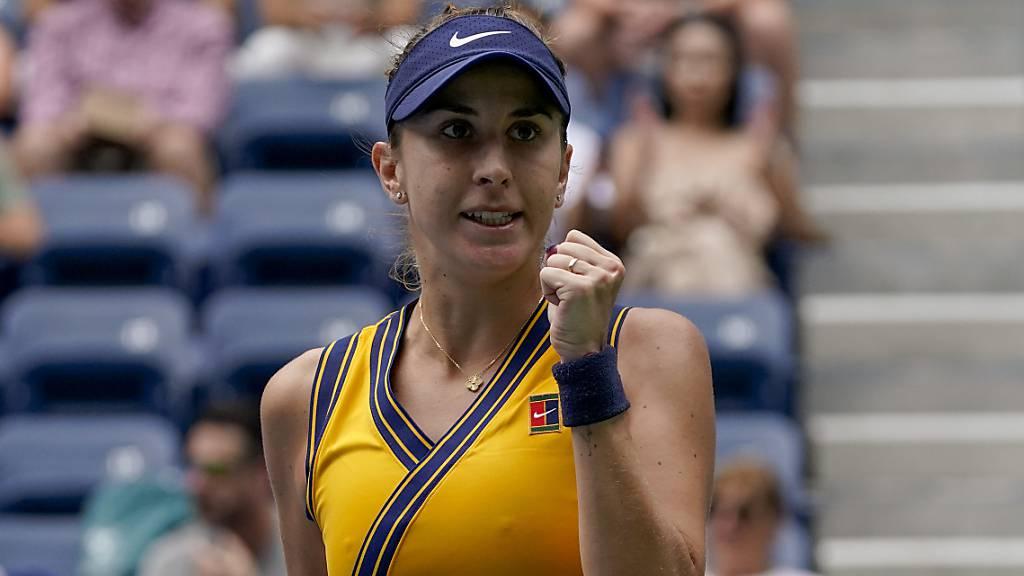 Belinda Bencic qualifiziert sich souverän für die 3. Runde