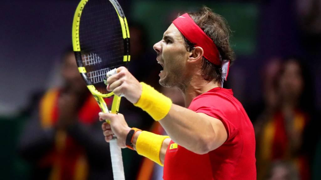 Rafael Nadal führte Spanien zum sechsten Davis-Cup-Titel
