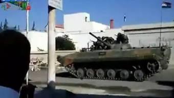 Die syrische Armee fährt eine neue Offensive gegen Regimegegner (Symbolbild)