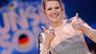 "Die deutsche Sängerin Isabella Levina Lueen singt am ESC in Kiew ""Perfect Life""."