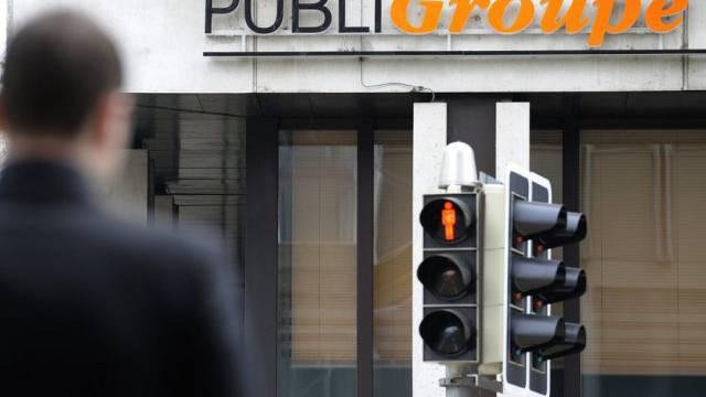 Publigroupe-Logo in Lausanne (Archiv)