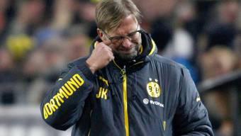 Dortmunds Trainer Jürgen Klopp macht schwere Momente durch.