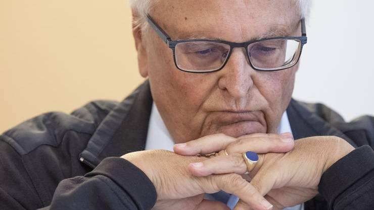 Zerknirscht: Theo Zwanziger, Ex-Präsident des Deutschen Fussballbundes.