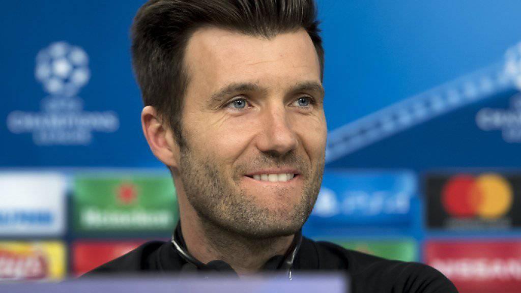 Zuversicht bei Trainer Raphael Wicky: Die Ausgangslage vor dem letzten Gruppenspiel ist für den FC Basel komfortabel