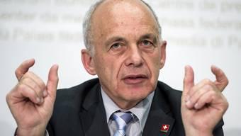 Sportminister Ueli Maurer sieht keinen Imageschaden für die Schweiz: «Es ist sogar leicht positiv für die Schweiz.»