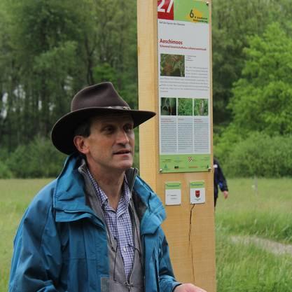 Projektleiter Geri Kaufmann.