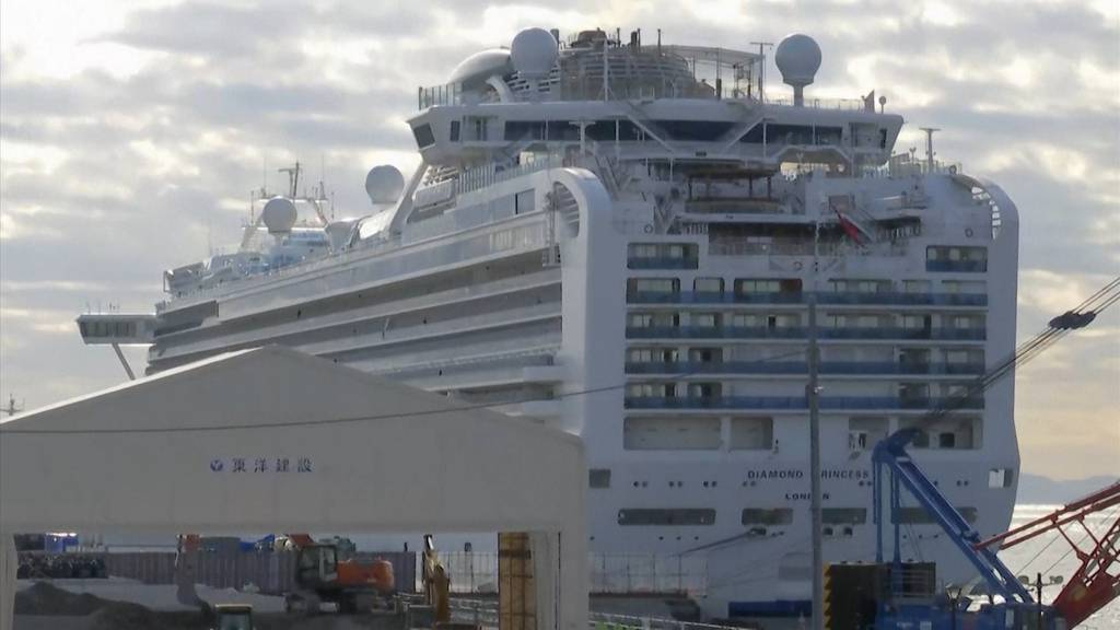 Japan lässt «Diamond Princess»-Passagiere an Land