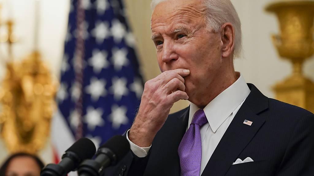 Joe Biden, Präsident der USA. Foto: Alex Brandon/AP/dpa