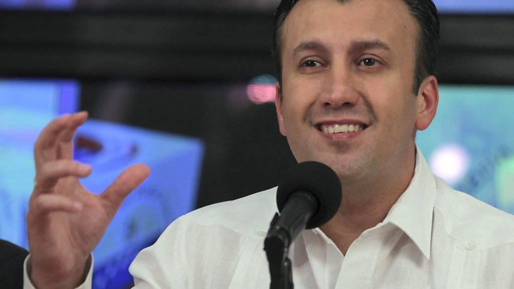 Der neue venezolanische Vizepräsident Tareck El Aissami. (Archiv)