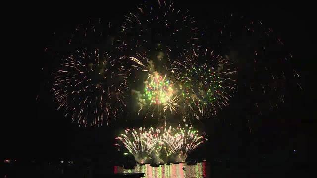 Feuerwerk: Keine Katerstimmung in Aegerten und Brügg