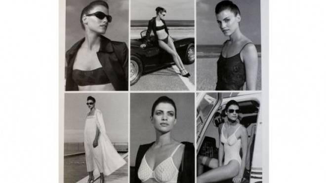 Bild aus vergangenen Tagen: Hanro-Katalog der 90er-Jahre. Foto: Kenneth Nars