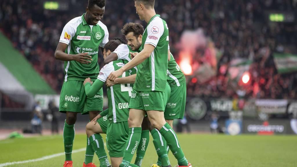 Das letzte Mal spielte der FC St.Gallen im Mai gegen Zürich. Es gab ein 1:1.