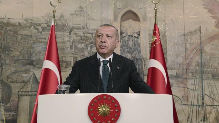 Gibt sich siegessicher: der türkische Präsident Erdogan in Istanbul.