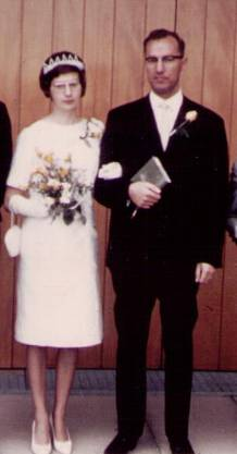 Hochzeit Edith und Heinz Badertscher-Wild