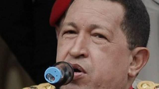 Chavez droht mit Beziehungsabbruch