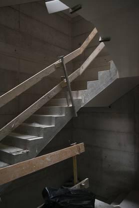 Eine Etage höher baut die Migros Pensionskasse 15 Eigentumswohnungen, die ab Oktober bezugsbereit sind