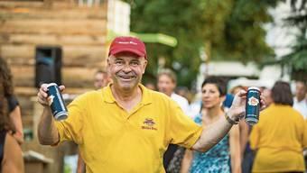 Hat im Moment wenig Grund, so zu strahlen wie an der Badenfahrt 2017: Felix Meier, Chef der Brauerei Müller in Baden.