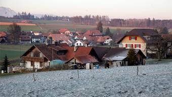 Die Lüterkofer (im Bild der Dorfkern)