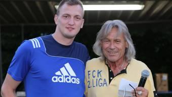 Trainerfuchs Radi Schibli (rechts) ist nach knapp 3 Monaten wieder zurück in Koblenz.
