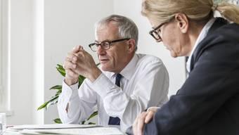 Stadtpräsident Kurt Fluri war ungehalten über die FDP-Kritik zur Arbeit von Andrea Lenggenhager