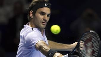 Roger Federer hatte einen kurzen Arbeitstag