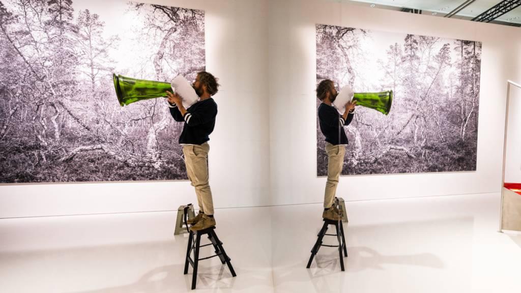Minimalistisches Design und hohe Ziele im Norwegen-Pavillon