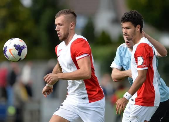 Die beiden Solothurner Waylon Grosjean (links) und Marc Du Buisson liessen gegen den FC Bern keine Torchancen zu