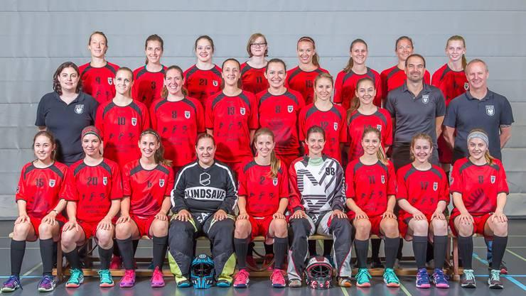 Aufsteigerinnen: Nach nur einer Saison in der 2. Liga kehren die Damen I des Team Aarau in die 1. Liga zurück. (Bild Fabio Baranzini)