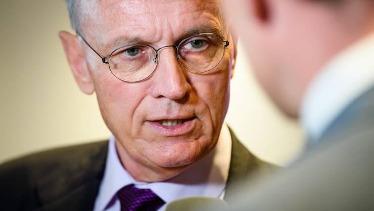 Hans-Ulrich Bigler, Direktor des Gewerbeverbandes.