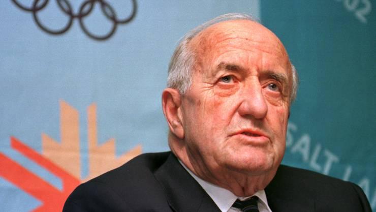 Der inzwischen verstorbene Marc Hodler hatte den Korruptionsskandal um die Vergabe der Olympischen Spiele 2002 losgetreten.