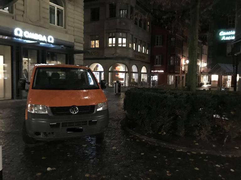 In Zürich wurde im November 2017 ein Uhrenladen ausgeraubt.
