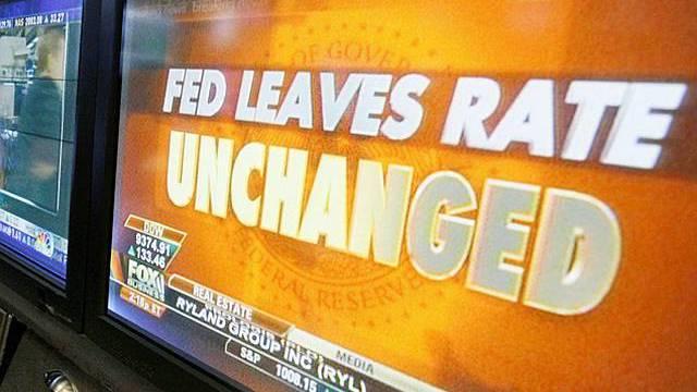 Der Leitzins bleibt konstant